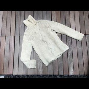 BANANA REPUBLIC Ivory Knit Sweater